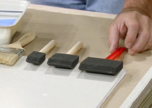 Choosing the right paintbrushes