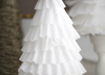 Coffee filter tree for a Frozen party