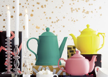 Colorful teapots from CB2