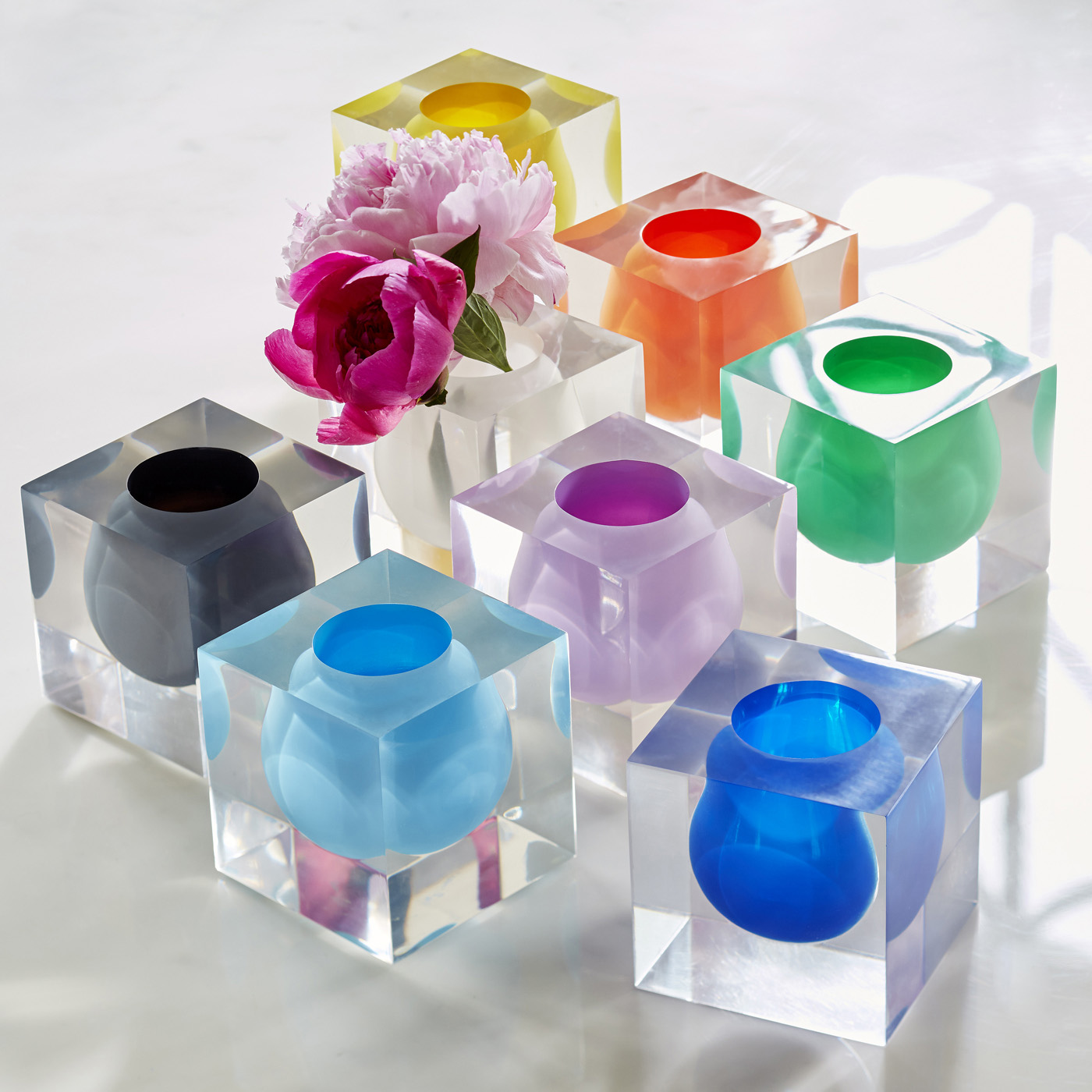 Colorful vases from Jonathan Adler