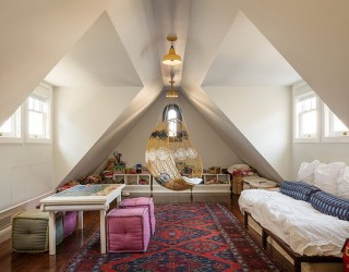 A Perfect Blend: Combining the Playroom and Guestroom in Style