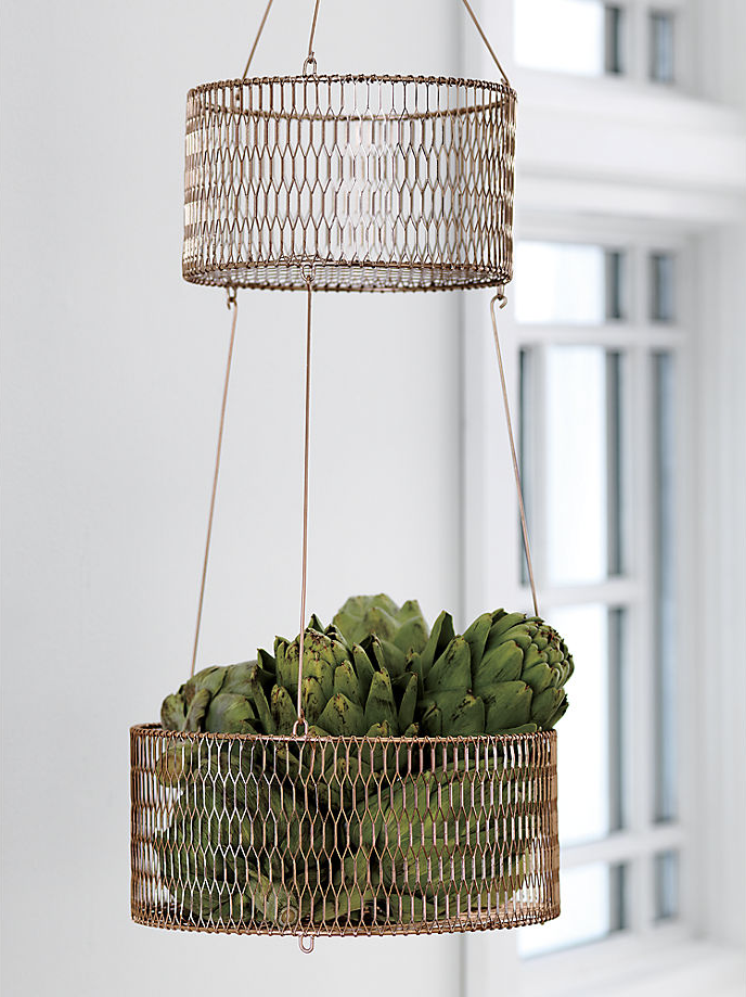 Copper basket from CB2