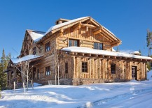 Cozy cabin in Big Sky offers access to some of the best ski slopes on the planet
