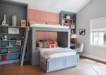Custom-bed-and-shelves-for-the-boys-bedroom-in-cool-gray-217x155
