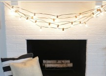 DIY painted Christmas lights from A Beautiful Mess 217x155 Cozy Winter Style: Keeping That Warm Glow Beyond the Holidays