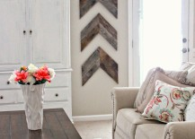 DIY-wooden-arrows-bring-some-interesting-wall-art-to-this-living-room-217x155