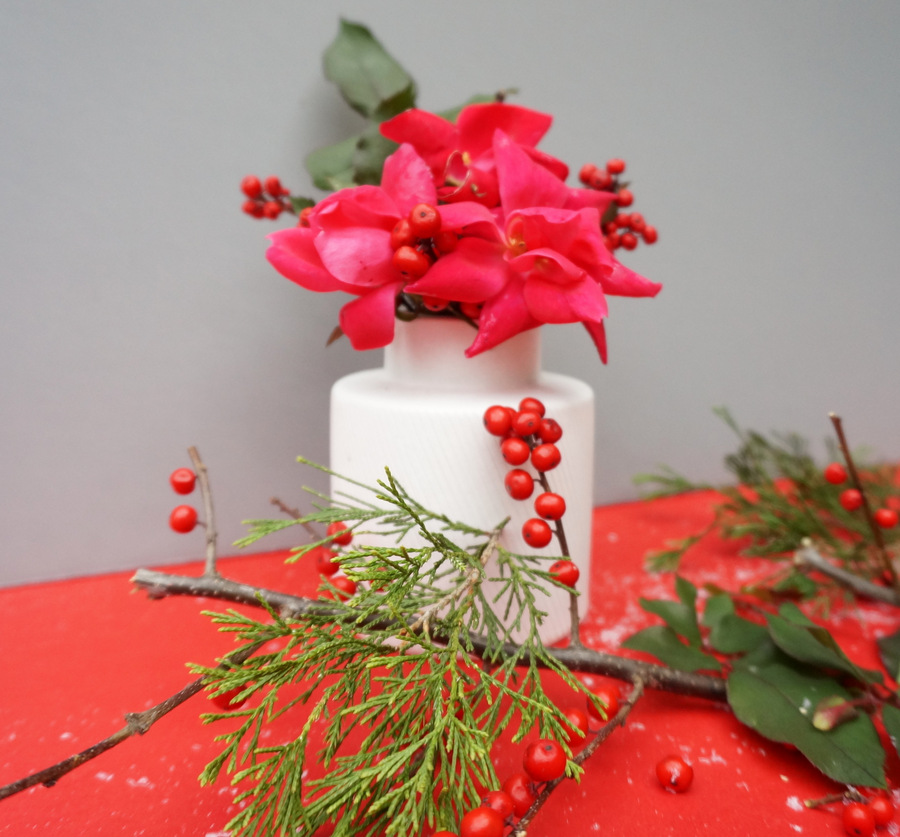 Decadent Christmas centerpiece