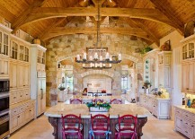 Dramatic-kitchen-brings-together-traditional-and-modern-217x155