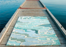 Dreamy ocean-motif rug from Angela Adams