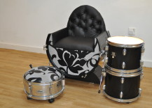 Drums-repurposed-as-a-chair-and-ottoman--217x155