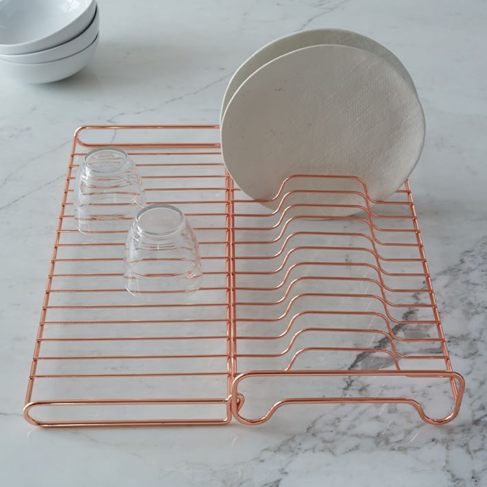 Drying rack from West Elm