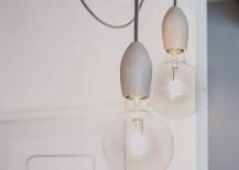 Edison bulbs with Scandinavian-inspired design offer lovely lighting