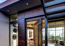 Entrance-of-the-desert-home-with-a-swivel-door-217x155