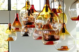 Bottled Brilliance: Sparkling Pendants Unleash Color and Charisma