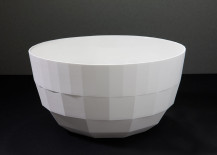 Faceted serving bowl from Fort Standard
