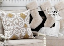Faux fur stockings from Z Gallerie