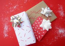 Festive gift wrap designs