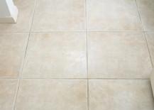 Floor after shot