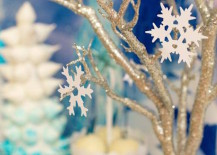 Frozen party decorations featured at Karas Party Ideas 217x155 Frozen Party Decorations for a Festive Winter Fete