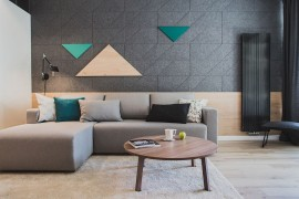 Style, Texture and Geometric Flair: Szafarnia 2 in Gdansk