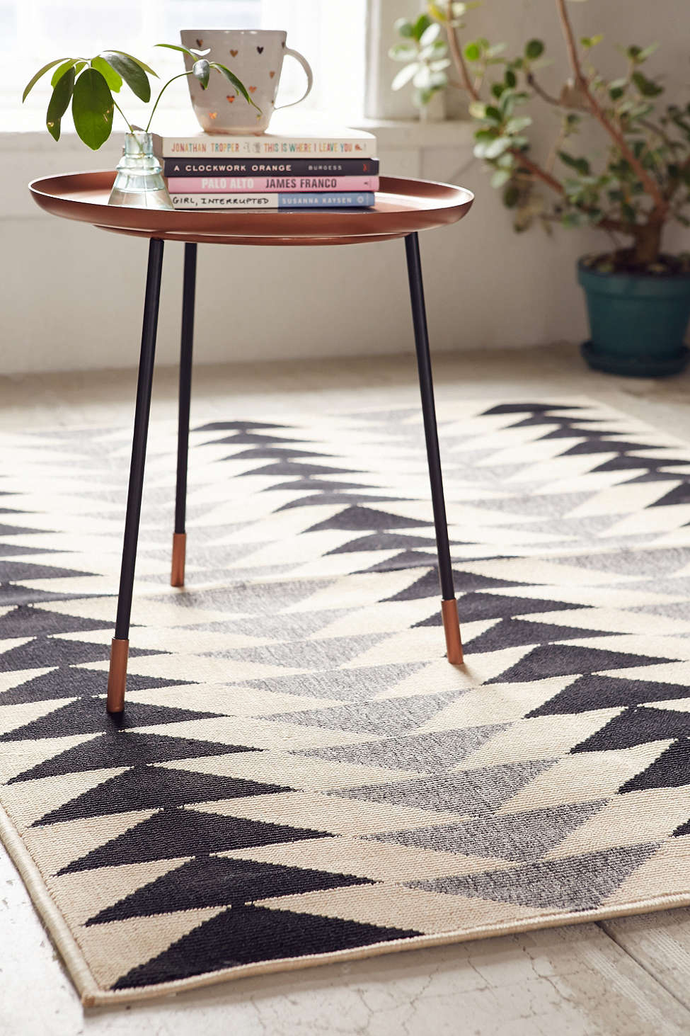 Geo rug from Urban Outfitters