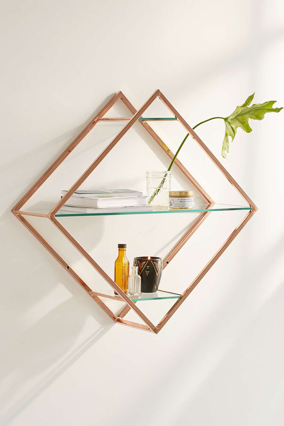 Geo wall shelf from Urban Outfitters