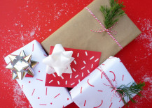 Get creative with your gift wrap 217x155 Easy Gift Wrapping Ideas Using Everyday Items