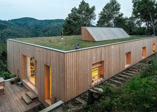 Casa LLP: Eco-friendly Modern Home Fits in With Forest Topography