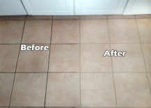 Grout cleaning and sealing can make a big difference