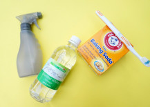Grout cleaning supplies