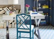 Home office desk from Jonathan Adler with Hollywood Regency style 217x155 5 Trendy Desks to Complete the Perfect Modern Home Office