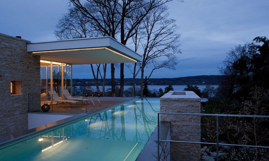 A View to Savor: Sophisticated and Minimal S House Overlooking Lake Starnberg