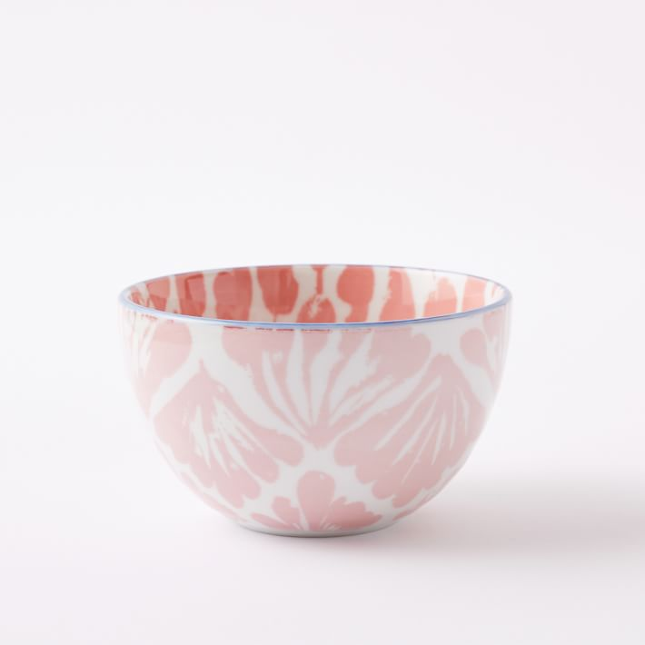 Ikat bowl from West Elm