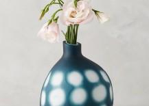 Indigo vase from Anthropologie