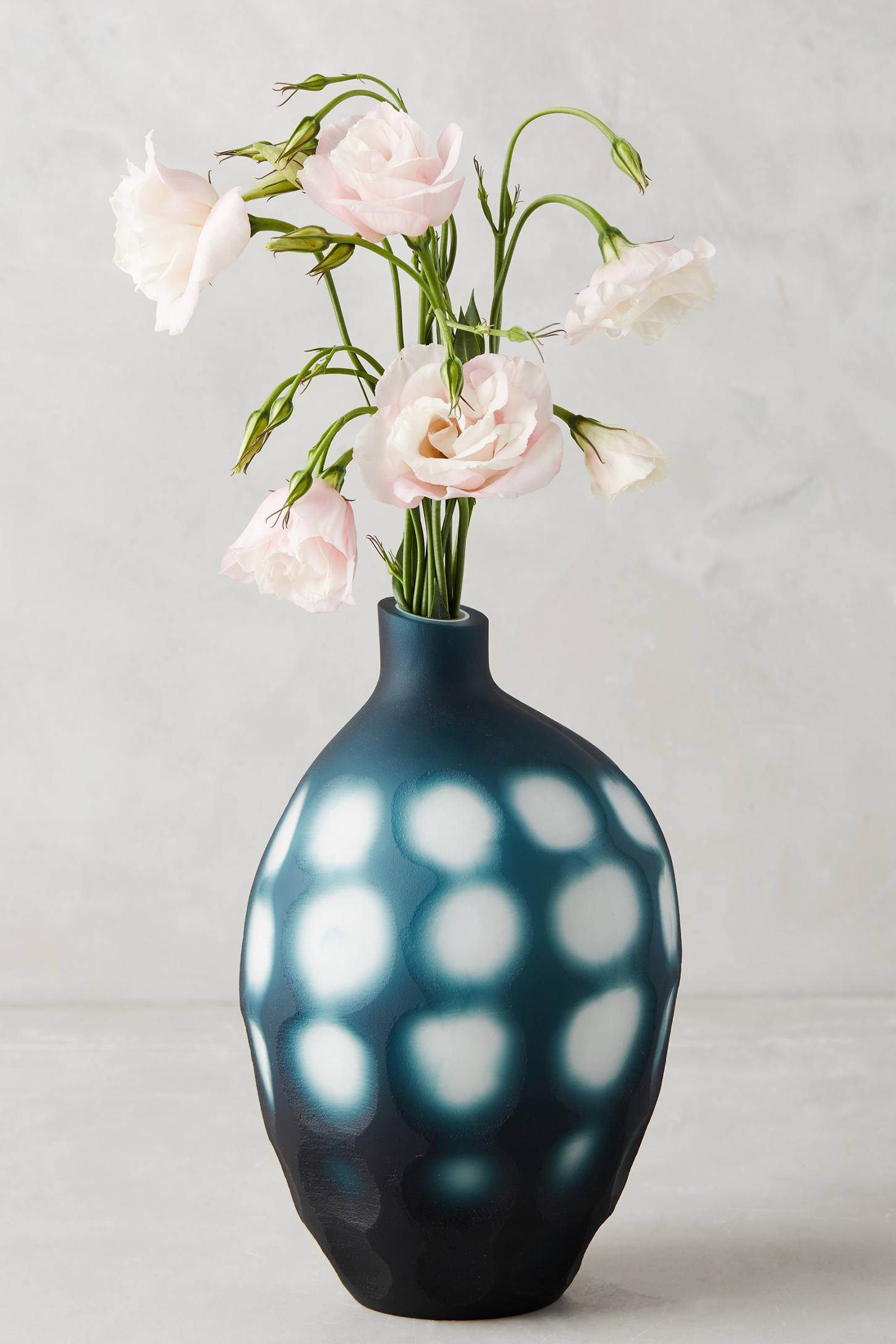 Indigo vase from Anthropologie