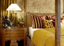 It-is-the-stone-wall-that-brings-an-air-of-authenticity-to-this-Mediterranean-bedroom-217x155