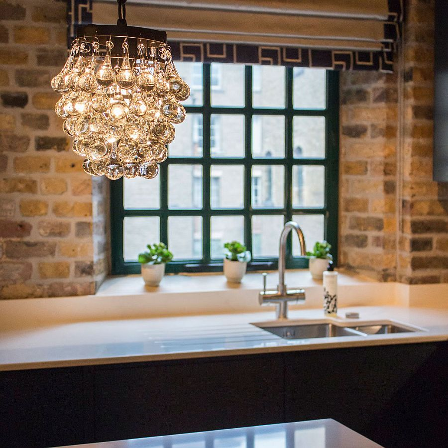 John Lewis pendants bring chic charm to the industrial setting