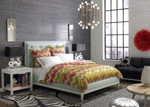 Jonathan-Adler-bed-with-a-tufted-headboard-217x155