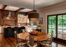 Kitchen and dining room rolled into one