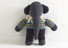 Knitted Elephant by Lighthouse Knitwear