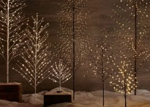 LED trees from Restoration Hardware 217x155 A Holiday Season Survival Guide for Design Lovers