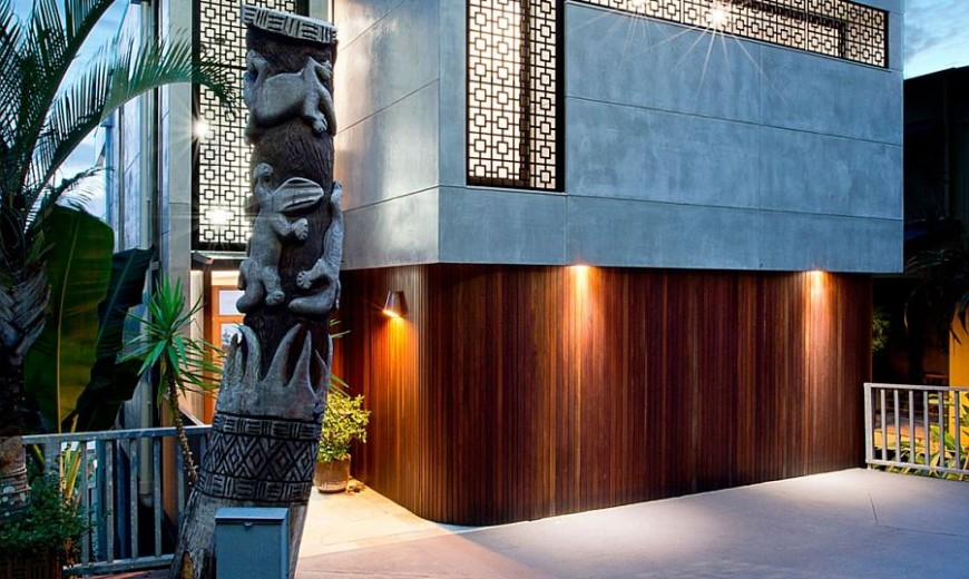 Amazing Renovation of 80s Duplex Building Caters to Chic, Modern Lifestyle