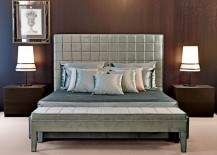 Luxury upholstered bed from Nella Vetrina 217x155 High End Beds for a Long Winters Nap
