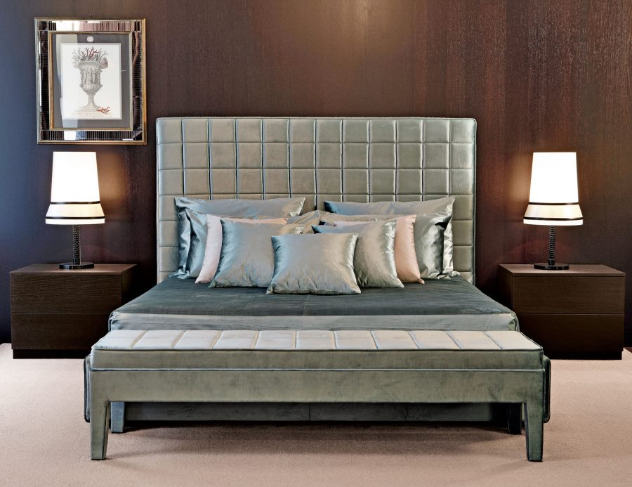Luxury upholstered bed from Nella Vetrina
