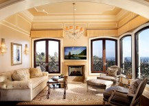 Modern LA home with Mediterranean- inspired sunroom