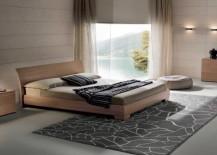Modern wooden bed from Prestige Designs