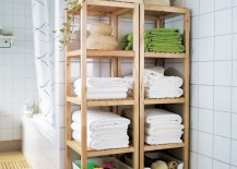 Molger-open-closets-from-IKEA-that-match-the-bathroom-floor-217x155