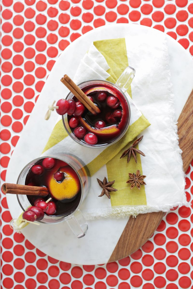 Mulled wine from A Beautiful Mess