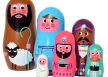 Nativity scene Matryoshka dolls