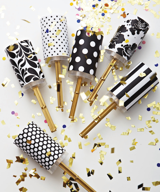 ... Year's Eve confetti poppers New Year's Eve confetti party favors
